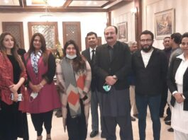 Meeting with civil society