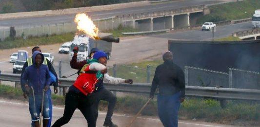 South Africa deploys army
